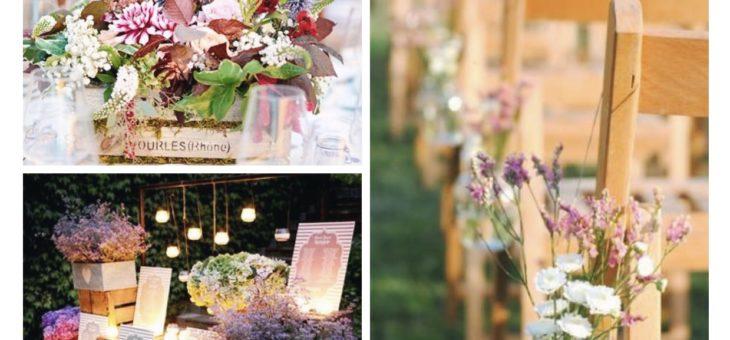 La decoración de vuestra boda